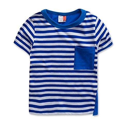 Tendance pour garçon Chemise spéciale T-shirt pour Cool Boy - Bleu - Taille Unique