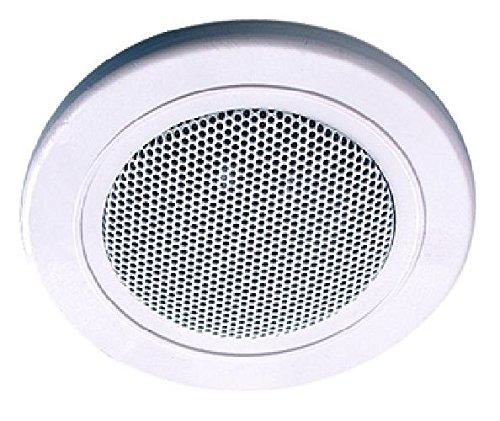 Brumberg 3092.07 Einbaulautsprecher ohne Übertrager Farbe: weiß, D: 100 mm, 6/8 W, 4Ohm