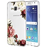 Galaxy J7 Case,J700 Case with Flowers,...