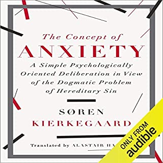 The Concept of Anxiety cover art