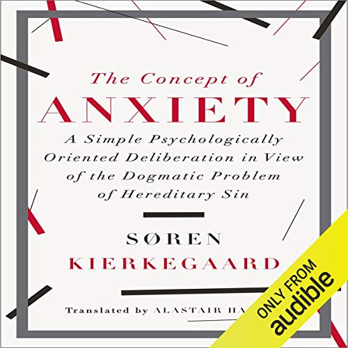 Couverture de The Concept of Anxiety