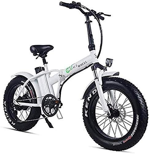 Bicicleta Eléctrica Plegable Bicicleta eléctrica de nieve, bicicletas eléctricas rápidas para adultos...