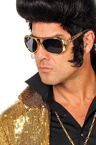 Wilbers 20000 Elvis Presley Sonnenbrille Gold