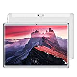 Android Y1 4G Tablet Tablet PC, 10,1 Pulgadas, 2 GB + 32 GB, Pantalla 2.5D, Android 6.0 MTK6753 Octa-Core hasta 1.6GHz, WiFi, Bluetooth, OTG, GPS (Color : Silver)