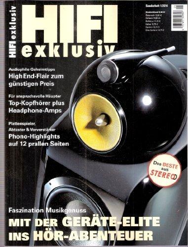 HIFI exklusiv, Stereo Sonderheft 1/2014