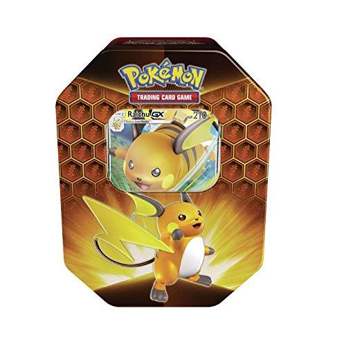 Pokemon Hidden Fates Raichu GX Collectors Tin | Inc Booster Packs & Promo Card