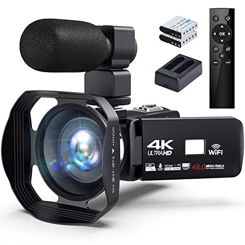 Keculbo Videokamera 4K 48MP 18X Bild