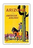 Arizona – American Airlines – Riders on Horseback –