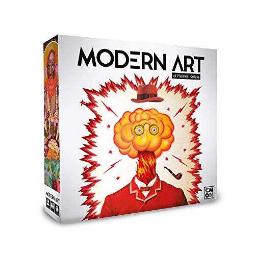 Asmodee - Modern Art, Gioco da Tavolo, Edizione in Italiano, 8452
