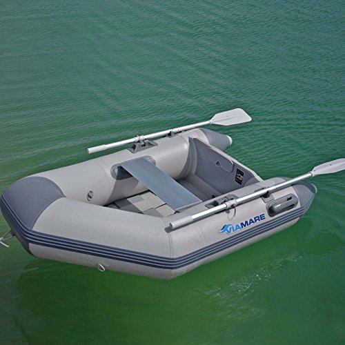 VIAMARE Unisex - Volwassenen opblaasbare boot 190 Slat, grijs