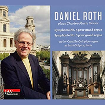 Daniel Roth Plays Charles-Marie Widor Symphonie No. 5 & No. 6 Pour Grand Orgue on the Cavaille-Coll Pipe Organ at Saint-Sulpice, Parish