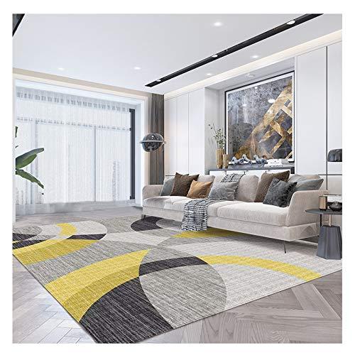 ZZLYY Alfombra calefactora para sala de estar, impermeable, antideslizante, resistente a la fricción y fácil de cuidar, adecuada para sala de estar, dormitorio y oficina, B, 200 cm x 140 cm