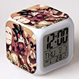 huangyung Super Soldado Reloj Despertador Digital con luz, Reloj...