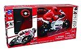 New Ray- Miniature-Moto Grand Prix Ducati Andrea Davizioso-Radiocommandé, 88815