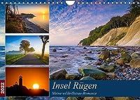 Insel Ruegen - Meine wilde Ostsee-Romanze (Wandkalender 2022 DIN A4 quer): Traumhafte Landschaften der groessten Insel in Deutschland (Monatskalender, 14 Seiten )
