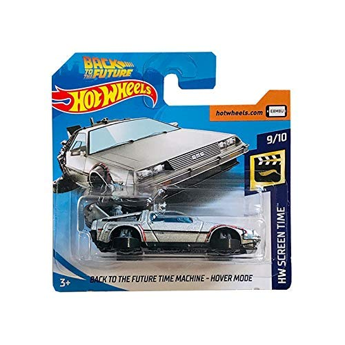 Hot Wheels Back To The Future Time Machine Hover Mode - 2019 Short Card