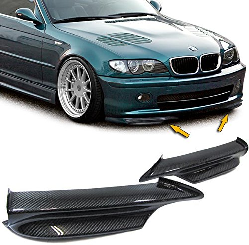 Carparts-Online 14895 Carbon Spoiler Flaps Splitter