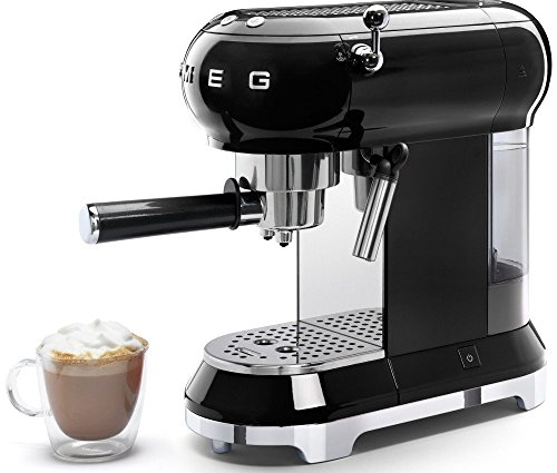Smeg Espresso Coffee Machine, Black