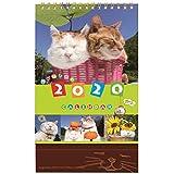 学研ステイフル 2020年 カレンダー 卓上 かご猫 M09083