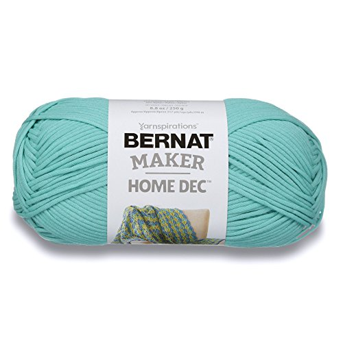 Bernat Maker Home Dec Yarn, 8.8oz, Guage 5 Bulky Chunky, Aqua
