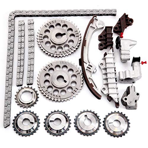 ECCPP Timing Chain Kit fits for 2001 2003 for Infiniti QX4 for NISSAN Pathfinder 3.5L TKNI033