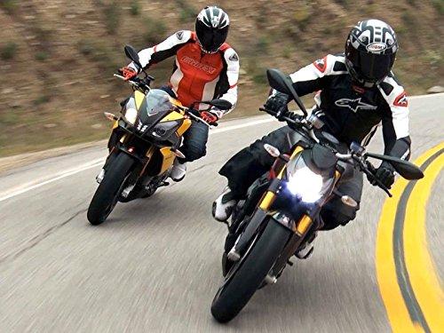 Ducati Streetfighter S vs Aprilia Tuono V4R: Naked Bike Shootout!