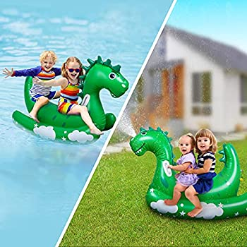 Sufiya Yard Sprinkler Ride On Toys for Kids