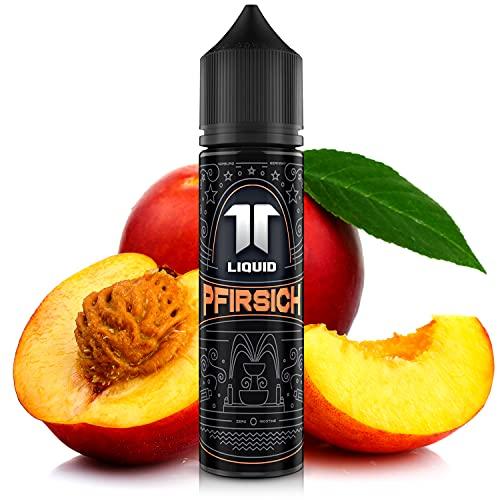 Elf-Liquid ® Pfirsich | 100% MADE IN GERMANY | Premium E Liquid ohne Nikotin für E Zigarette & E Shisha | 10ml E Liquid Vape Aroma in 60ml Flasche zum selber Mischen