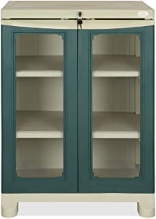 a2b6e6c76b8 Nilkamal Freedom Small 2 (FS2) Plastic Storage Cabinet (Pista Green   Olive  Green