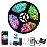 Arotelicht LED Streifen Set Wifi RGB Strip Kit, Smart...