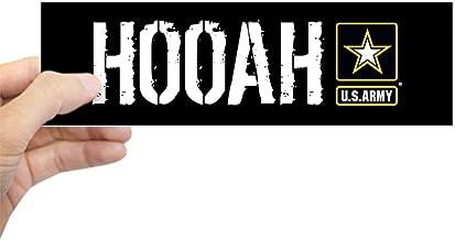 CafePress U.S. Army: Hooah (Black) 10