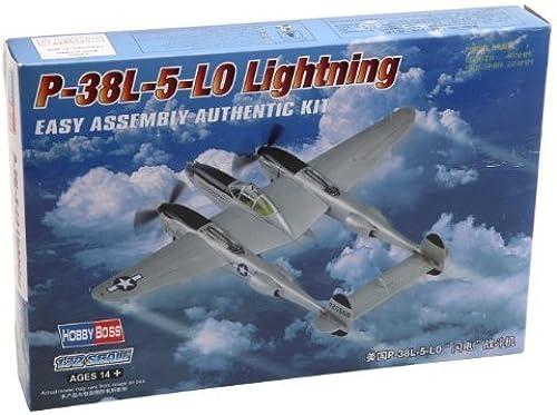 Vuelta de 10 dias Hobbyboss 1 72 Scale P-38L-5-L0 Lightning Lightning Lightning Diecast Model Kit by Hobbyboss  ahorra hasta un 70%