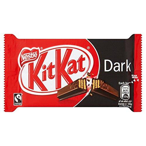 KITKAT 4 Finger 70% Dark Chocolate Bar 41,5 g (Packung mit 24 x 41,5 g)