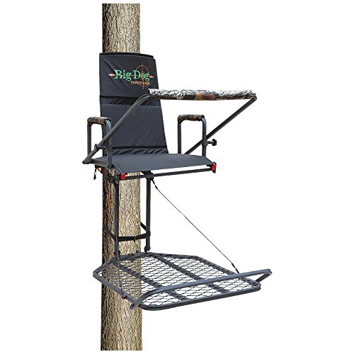 Big Dog Treestands Retriever Hang On Stand, 24 x 32.5-Inch/28-Pounds