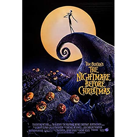 The Nightmare Before Christmas Movie Sheet Poster 24x36 inch Fast Shipping New
