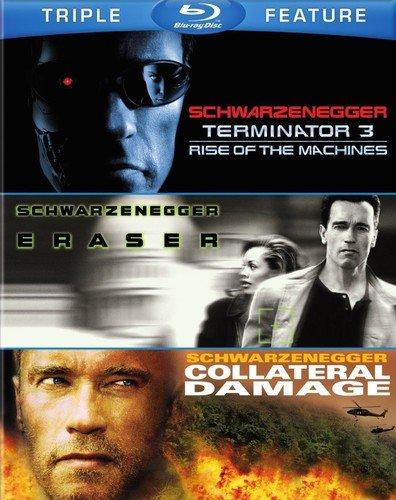 Terminator 3 / Eraser / Collateral Damage [Edizione: Stati Uniti] [USA] [Blu-ray]