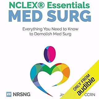 MedSurg NCLEX® Essentials audiobook cover art