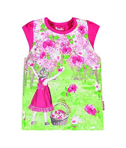 Pampolina T-Shirt 1/8 Arm Camiseta, Rosa (Virtual Pink 2061), 86 cm para Niñas