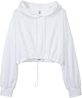 Best crop hooded top Reviews