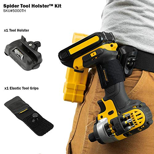 Spider Tool Holster Set - Improve the way you carry and organize tools on your belt!