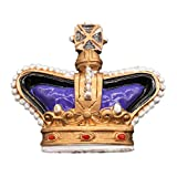 Weekinglo Souvenir Nevera Imán Corona Inglaterra Reino Unido 3D Resina Artesanía Hecha A Mano Turista Ciudad de Recuerdos de Recuerdos Carta de Refrigerador Etiqueta