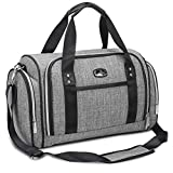 Hafmall Diaper Bag, Large Baby Diaper Tote for Mom and Dad, Convertible Travel Baby Bag with Insulated Pockets (Gray)