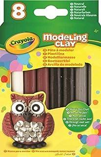 Crayola Modeling Clay (8 Pack) Natural