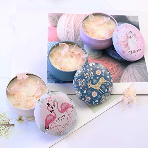 ONLYFU Aromatherapie Kerzen Set Die Ihnen Garantiert Bei Der Entspannung Hilft Perfekte Geschenkset Unschädlich Für Mensch Tier Und Umwelt