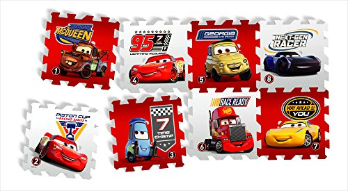 Knorrtoys 21013 - Cars - Race of a Lifetime/Puzzlematte/8tlg./
