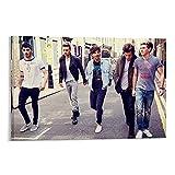 BABAQIQI One Direction Deko Poster deko Wohnzimmer