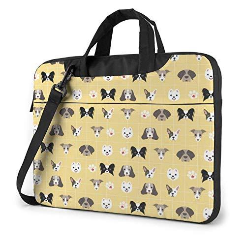 Laptop Messenger Laptop-Tasche Notfall Hund Haustier Erste-Hilfe-Set Umhängetasche Aktentasche Büro Laptop-Hülle Hülle Tasche Schulranzen Tablet für Männer Frauen