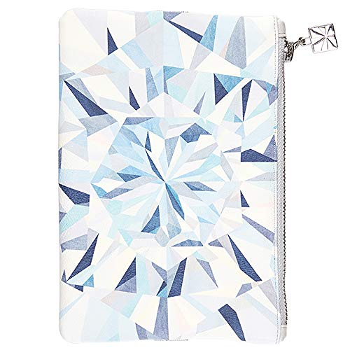 Erin Condren Planny Pack Designer Planner Pouch 8x5.25 - Kaleidoscope Neutral, Zippered Storage Fanny Pack with Elastic Band for Pens, Pencils, & Small School or Office Accessories