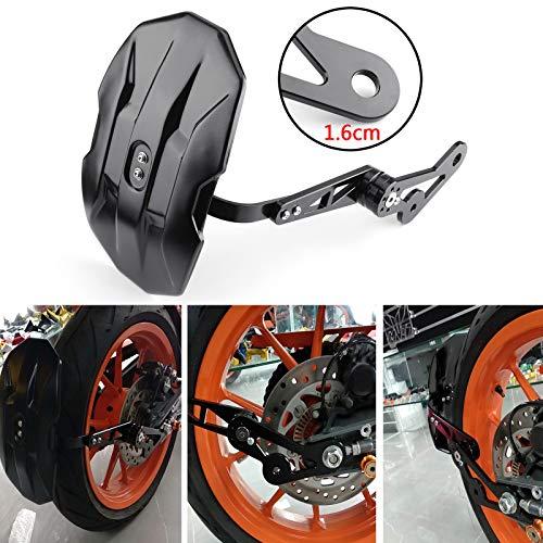 Areyourshop Universal-Schutzblech für Motorrad, hinten
