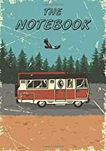 Camping Notebook: Notebook: Light Blue color Camping-120 Pages - Large (7x 10 inches)